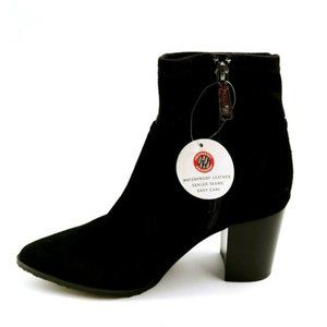 Blondo Womans High Heel Ankle Boots Waterproof NEW